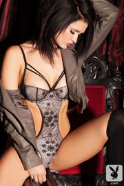 minx grey lingerie and