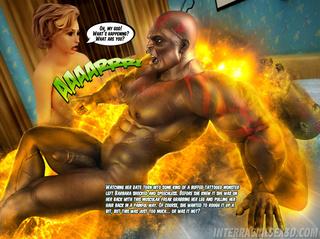negras lad furious monstruo