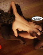 Old hubby finds his slutty wife gets gangbanged by two black lads on the