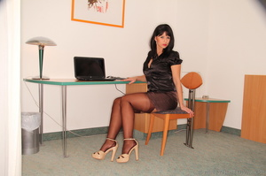 Sexy office worker sheds her sensible to - XXX Dessert - Picture 2