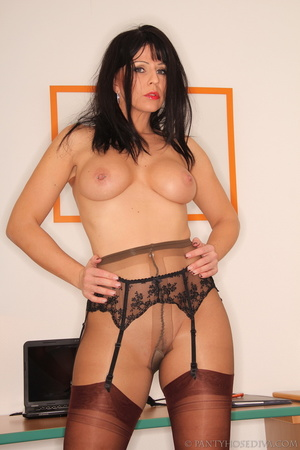 Sexy office worker sheds her sensible to - XXX Dessert - Picture 9