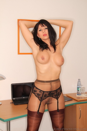 Sexy office worker sheds her sensible to - XXX Dessert - Picture 11