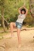 girl jean shorts makeshift