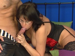 Sensational gentlewoman in black stockin - XXX Dessert - Picture 6