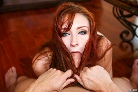 balls, deep throat, redhead, rough sex