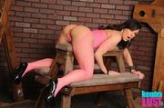 hot cougar wearing pink