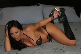 bedroom, bikini, individual model