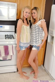 dolls denim shorts play