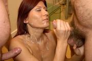 luscious redhead shows her