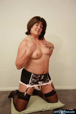 Are available? mature in stockings and suspenders that