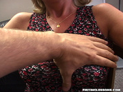 cougar's tits are grabbed