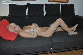 blonde, bondage, erotica, pantyhose