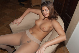beauty, erotica, table, topless