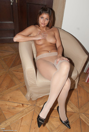 gleeful gal nude hosiery