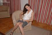 hot sophisticate undresses removing
