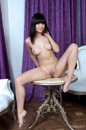 Cute hot chick shows her lovely pair of  - XXX Dessert - Picture 14