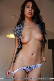 gingham bra and panties