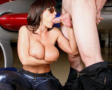 boobs, hardcore, shiny, sucking