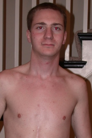 Young white dudes shows their shirtless  - Picture 2
