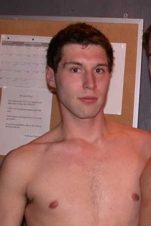 Young white dudes shows their shirtless  - Picture 6