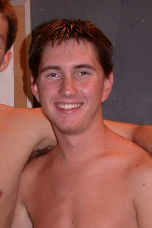 Young white dudes shows their shirtless  - Picture 7