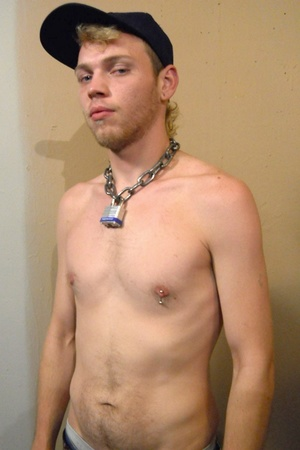 Young white dudes shows their shirtless  - Picture 8