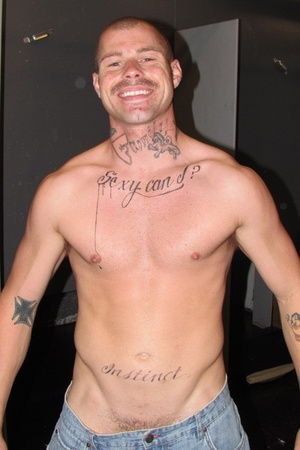 Hunk dudes shows their clean and tattooe - XXX Dessert - Picture 1