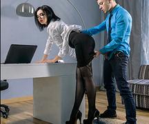 erotica, office, office sex, pantyhose