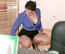 erotica, office sex, pantyhose, secretary