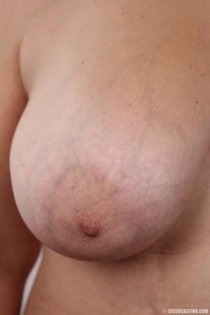 Blonde MILF takes off her brown shirt bl - XXX Dessert - Picture 12