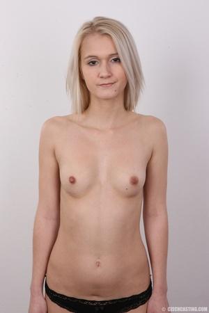 Smoking hot blonde slowly strips off her - XXX Dessert - Picture 11