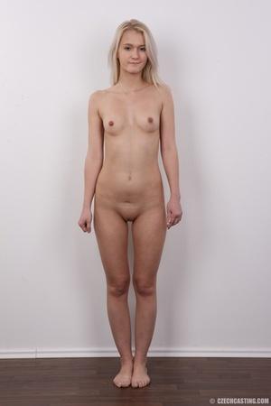 Smoking hot blonde slowly strips off her - XXX Dessert - Picture 14