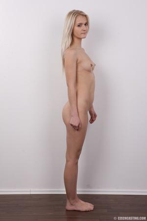 Smoking hot blonde slowly strips off her - XXX Dessert - Picture 15