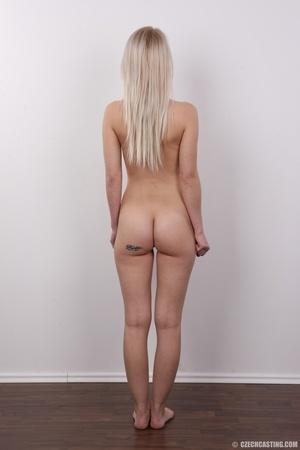 Smoking hot blonde slowly strips off her - XXX Dessert - Picture 16