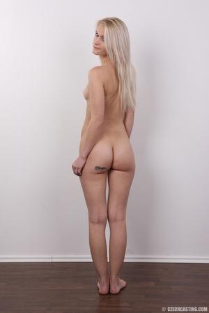 Smoking hot blonde slowly strips off her - XXX Dessert - Picture 17
