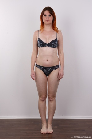 Lovely redhead takes off her brown sweat - XXX Dessert - Picture 7