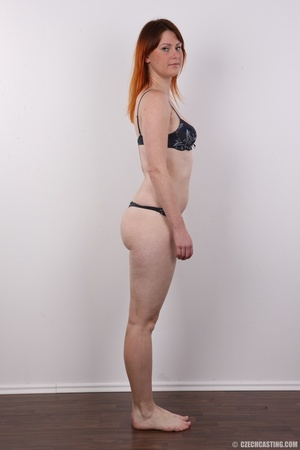 Lovely redhead takes off her brown sweat - XXX Dessert - Picture 8