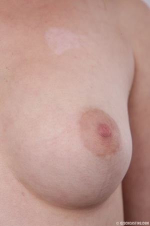 Lovely redhead takes off her brown sweat - XXX Dessert - Picture 13