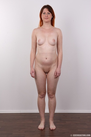 Lovely redhead takes off her brown sweat - XXX Dessert - Picture 14