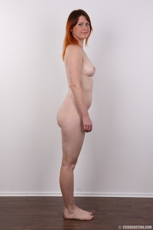 Lovely redhead takes off her brown sweat - XXX Dessert - Picture 15
