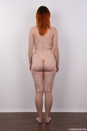 Lovely redhead takes off her brown sweat - XXX Dessert - Picture 16