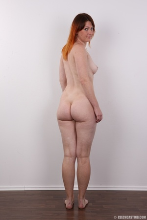 Lovely redhead takes off her brown sweat - XXX Dessert - Picture 17