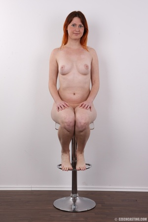 Lovely redhead takes off her brown sweat - XXX Dessert - Picture 18