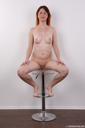 Lovely redhead takes off her brown sweat - XXX Dessert - Picture 19
