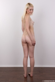 blonde hottie wearing all