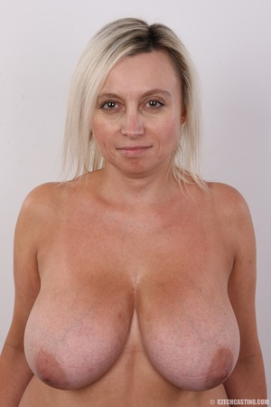 Blonde MILF slowly peels off her green s - XXX Dessert - Picture 11
