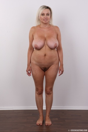 Blonde MILF slowly peels off her green s - XXX Dessert - Picture 12