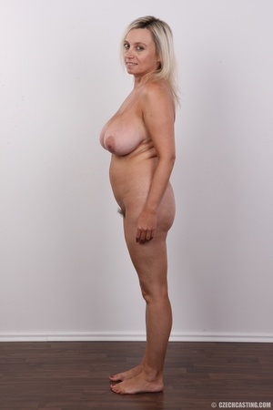 Blonde MILF slowly peels off her green s - XXX Dessert - Picture 15