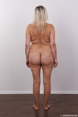 Blonde MILF slowly peels off her green s - XXX Dessert - Picture 17