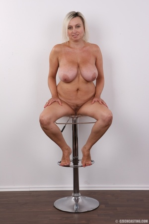 Blonde MILF slowly peels off her green s - XXX Dessert - Picture 19